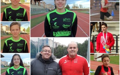 Clubes CAS Ciudad de Segovia, Venta Magullo y CETA: Crónica del Fin de Semana