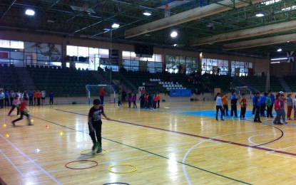 Acercar el balonmano a los más jóvenes, objetivo de la Escuela de Balonmano Nava IMD