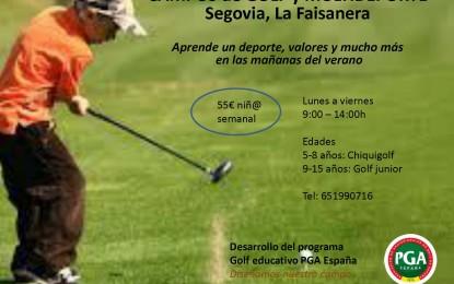 Campus de Golf y Multideporte en La Faisanera