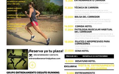 "El Campus Running ""Diana Martín"" llega a Segovia"