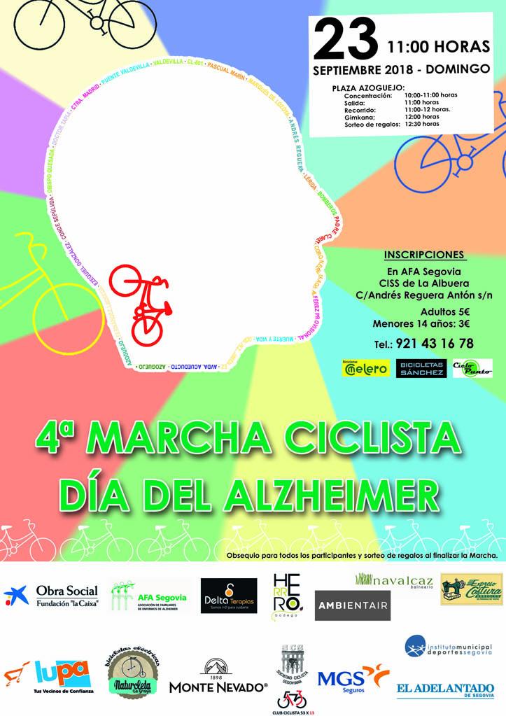 """IV Marcha Ciclista """"Día del Alzheimer"""""""