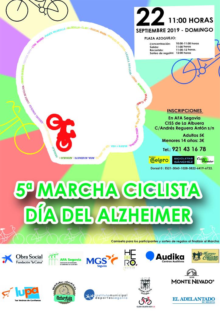 "V Marcha Ciclista ""Día del Alzheimer"""