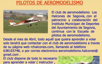 """VIII Curso de Pilotos organizado por el Club de Aeromodelismo """"Los Halcones"""""""