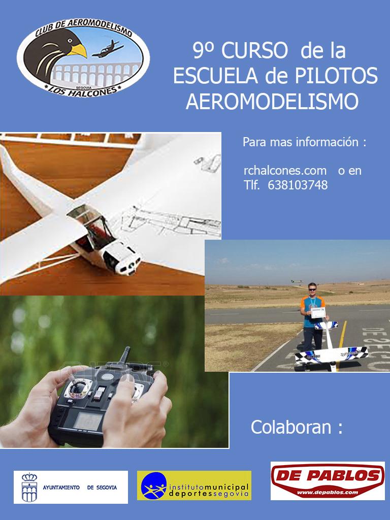 IX Curso de Pilotos  de Aeromodelismo