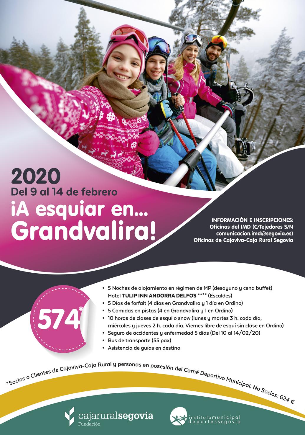 El IMD pone en marcha la Campaña de Esquí Alpino 2020