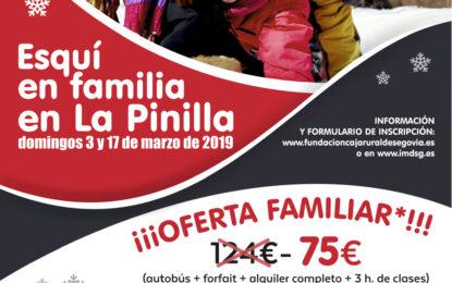 Esquí en familia en La Pinilla