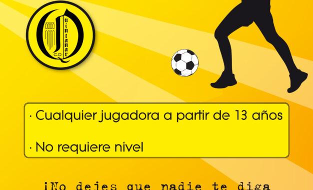 C.D. Quintanar: Fútbol Femenino