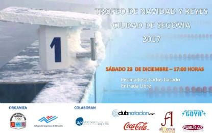 """Trofeo de Natación de Navidad-Reyes """"Ciudad de Segovia"""""""