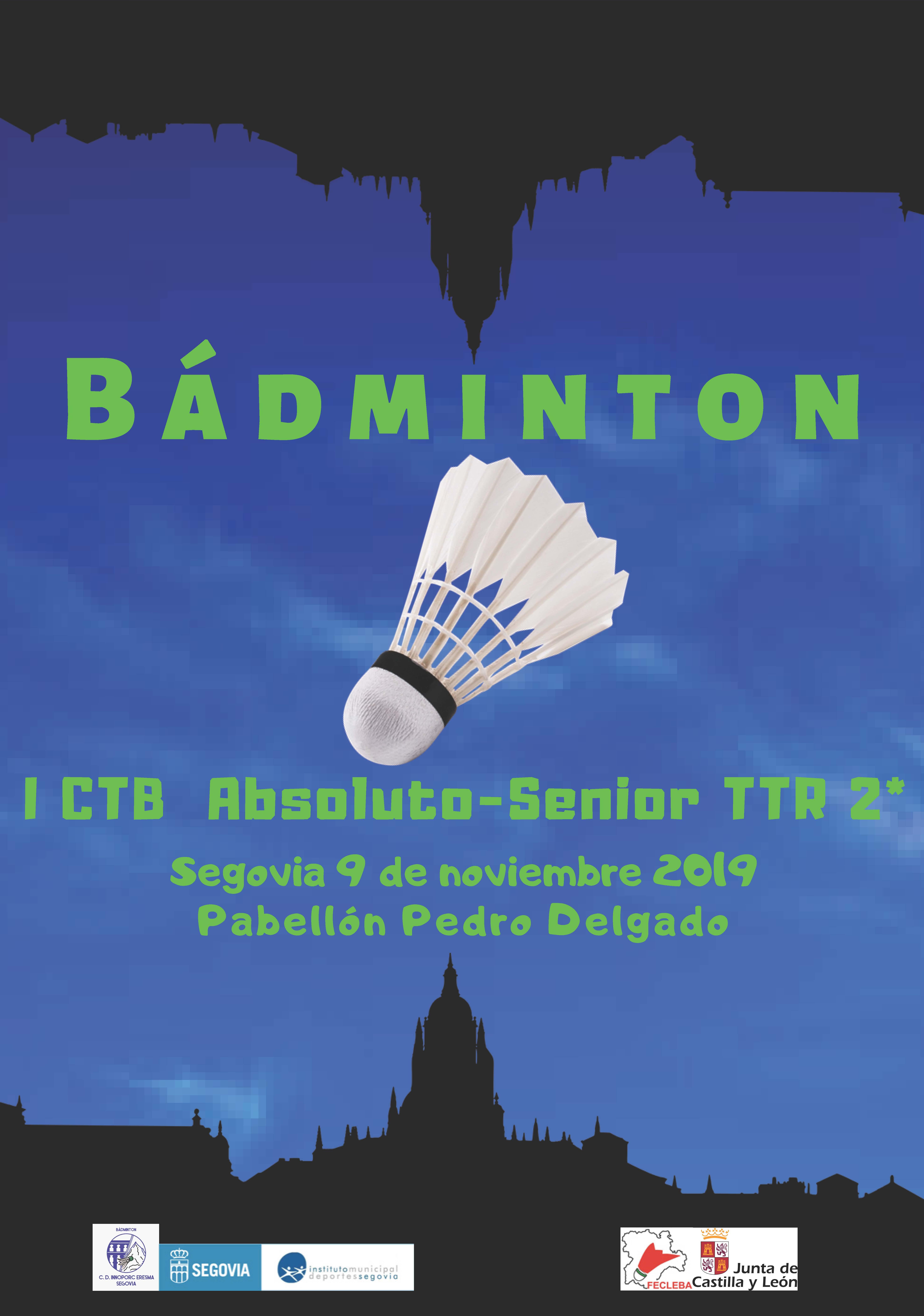Bádminton: I Torneo del Circuito TTR de Castilla y León
