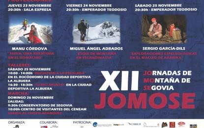 Jornadas de Montaña Segovianas: XII JOMOSE