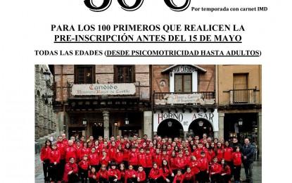 Escuela de Atletismo CAS Ciudad de Segovia
