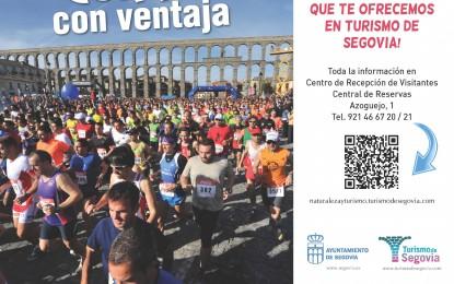 Turismo de Segovia ofrece ventajas a los aficionados al Running que participen en pruebas en nuestra ciudad