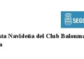 III Fiesta Navideña del Club Balonmano Nava en Segovia