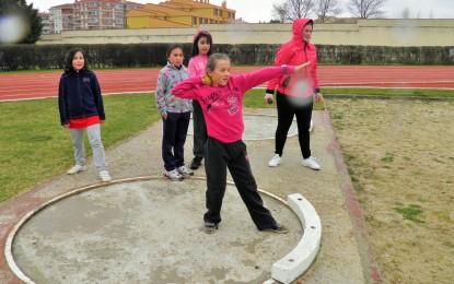 El atletismo fué la actividad estrella del encuentro del deporte escolar