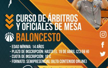 Federación de Baloncesto de Castilla y León: Curso de iniciación al arbitraje de Baloncesto