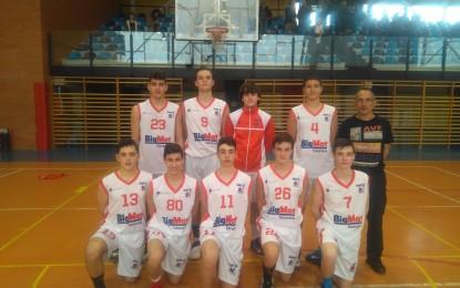 Basket 34 cadete masculino se proclama Campeón de Liga