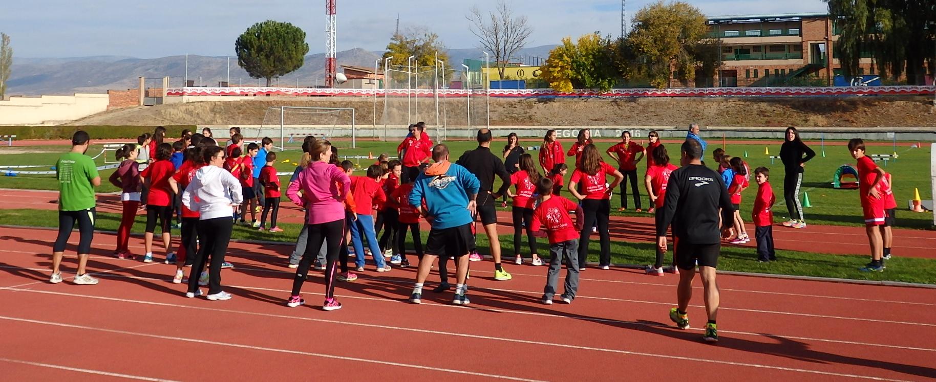 Preinscripción Escuela de Atletismo del CAS-Ciudad de Segovia, para la temporada 2017-2018