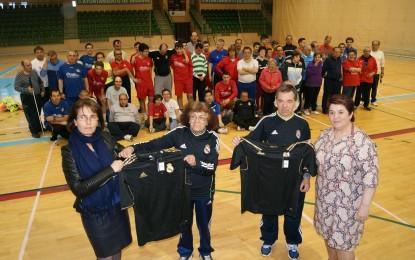 El Instituto Municipal de Deportes equipa a los participantes de la Escuela de Deporte Adaptado