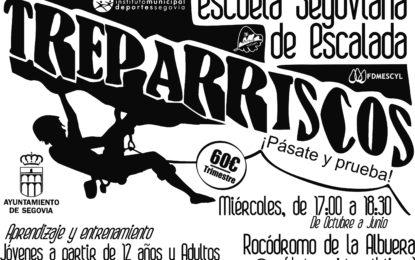 La Escuela Segoviana de Escalada se pone en marcha para el Curso 2019/2020