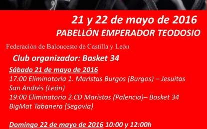 Basket 34 Bigmat Tabanera organizará la Final a cuatro de Segunda División