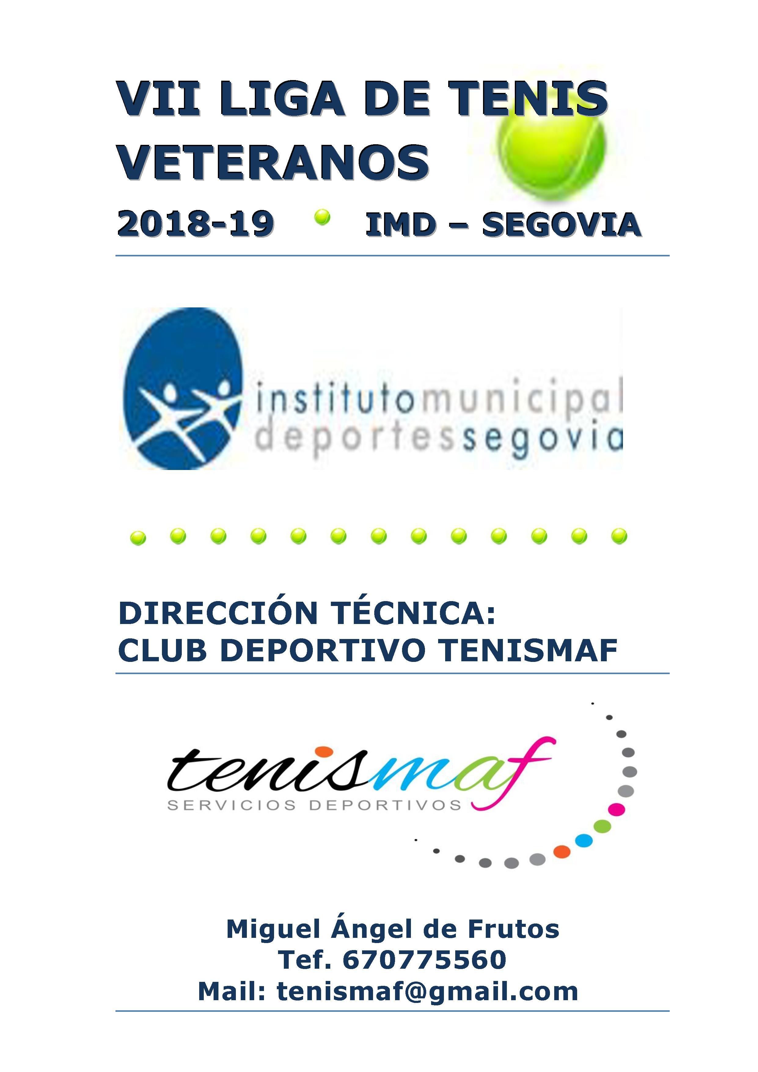 VII Liga IMD Tenis Segovia