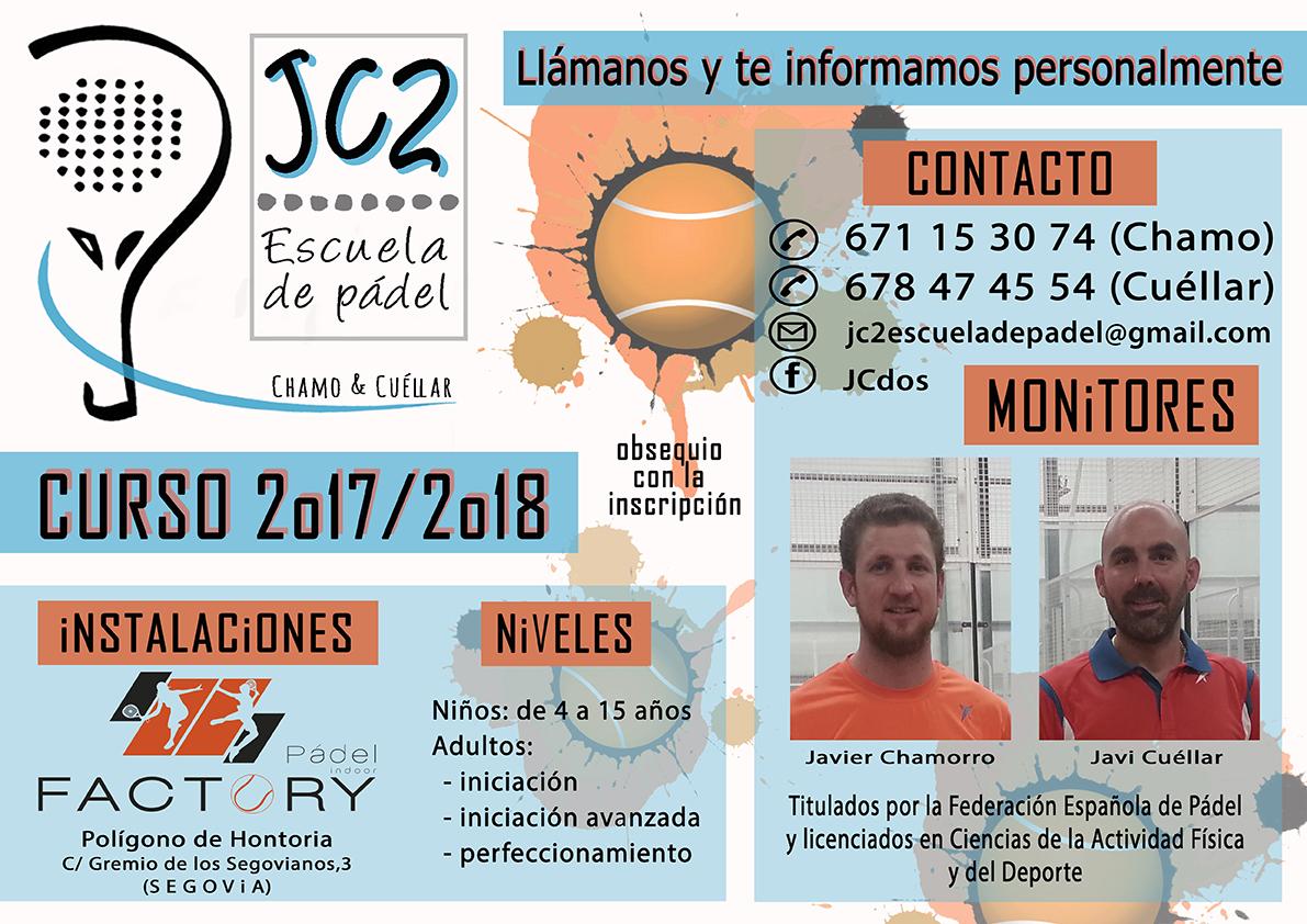 """Inicio de temporada en la Escuela de Pádel """"JC2″"""