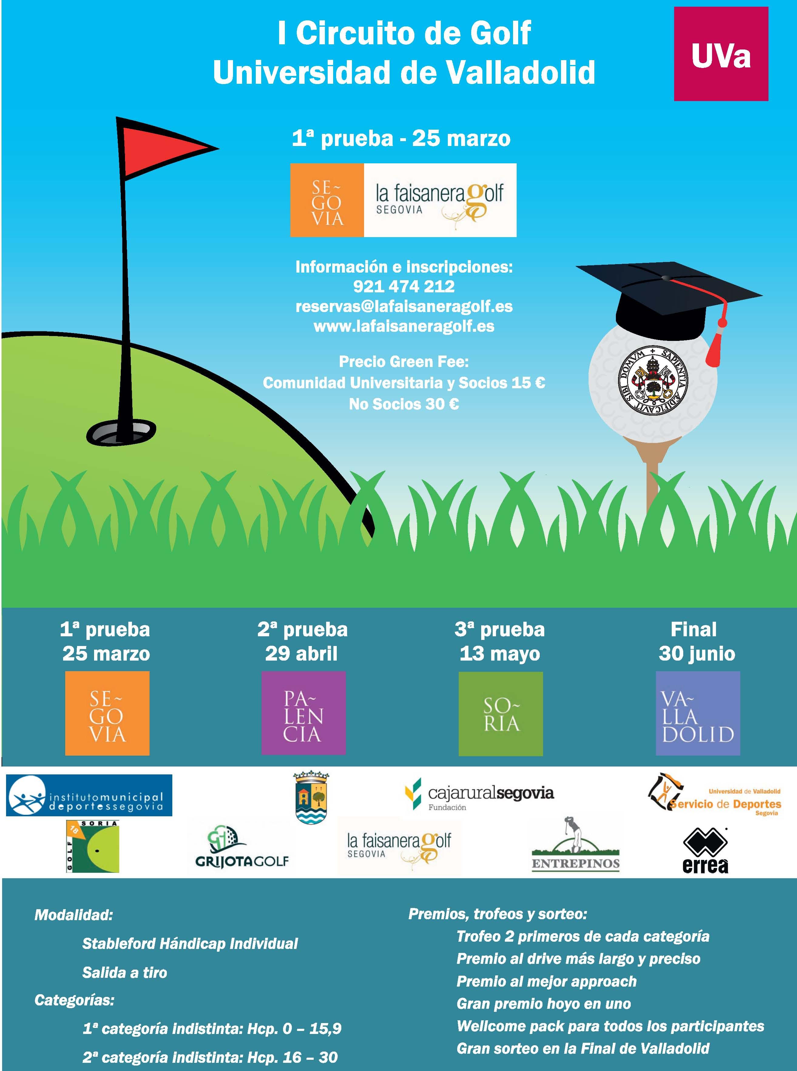 I Circuito Golf Universidad de Valladolid