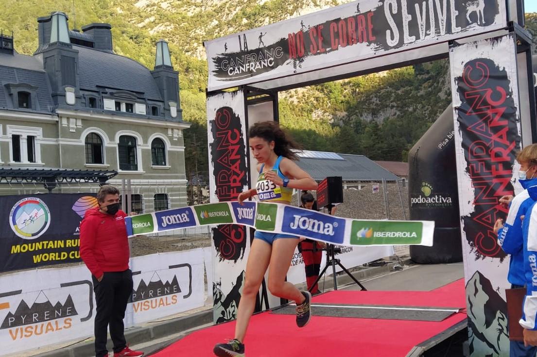 Claudia Corral Hodar, campeona de España de Trail Running, Promoción Sub-20