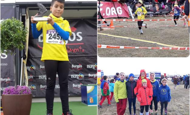 El atleta del CD Sporting Segovia, Carlos Casado, subcampeón en el XV Cross de Atapuerca