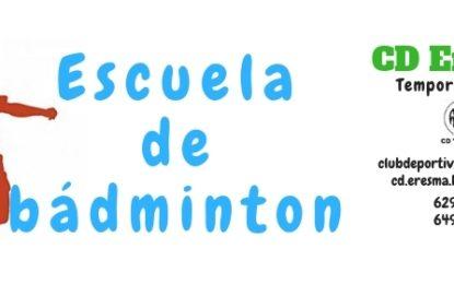 Club Deportivo Eresma: Nueva temporada en la Escuela de Bádminton