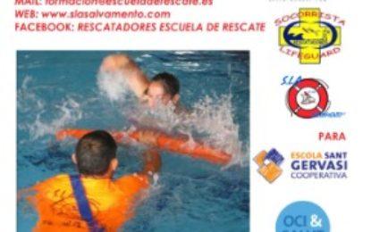 Curso de Socorrismo en Instalaciones Acuáticas: monitor de natación y desfibrilador