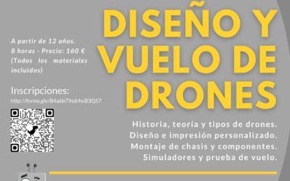 """Club Deportivo """"Los Halcones"""": Curso """"Diseño y Vuelo de Drones"""""""