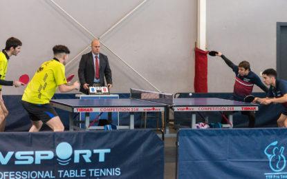 Tenis de Mesa: Gran victoria del Seghos San Cristobal ante el Madrid Ciudad Tenis de Mesa