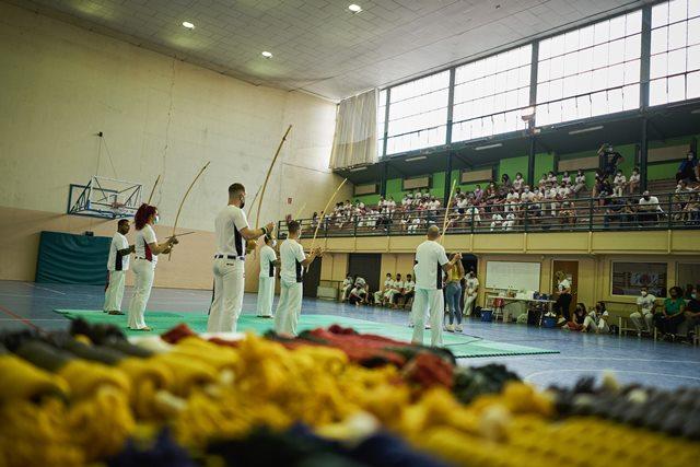 Actualizaciones de grado de los alumnos del grupo Muzenza Capoeira