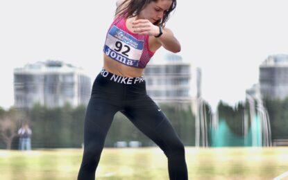 Daniela Gómez Navalón 4ª de España en lanzamiento de disco