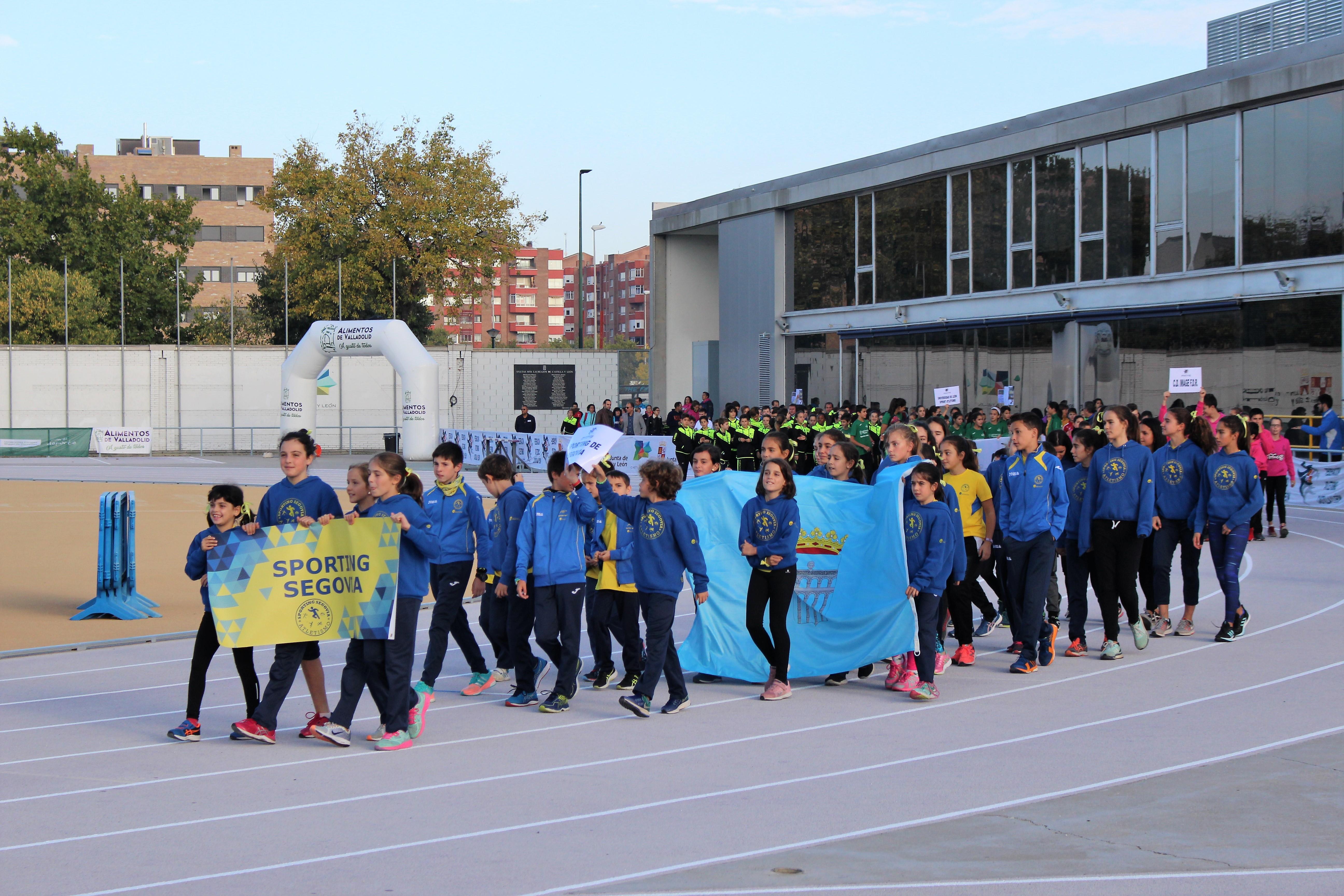 El Sporting, único club de Segovia, en tres categorías del Campeonato Autonómico