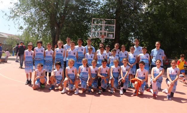 Las selecciones de Segovia de Minibasket incrementan su preparación