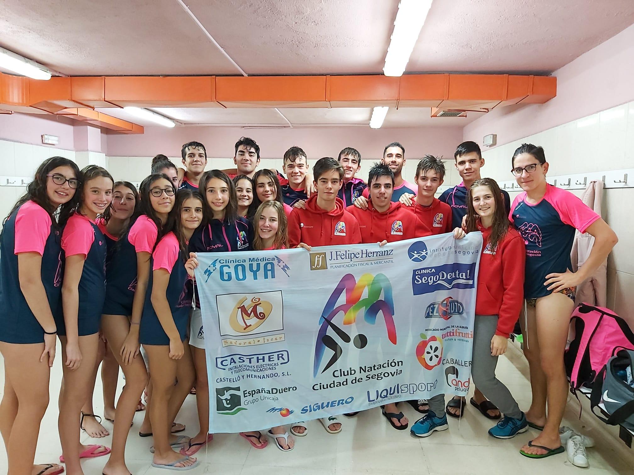 Gran comienzo de temporada del Club Natación IMD Ciudad de Segovia