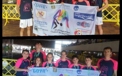 El Club Natación IMD-Ciudad de Segovia consigue 15 medallas en el I Trofeo Ciudad de Ávila