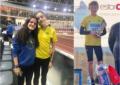 Tres nuevas mínimas nacionales para los atletas del Sporting Segovia