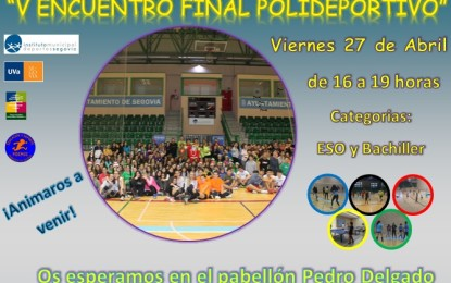 Deporte Escolar: Encuentro final de Secundaria y Bachillerato