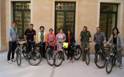 Las Bicicletas se incorporan al Parque Móvil del Ayuntamiento de Segovia