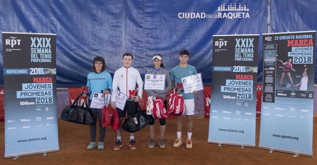 Nicolás Herrero Subcampeón del Master del Circuito Marca Jovenes Promesas de Tenis
