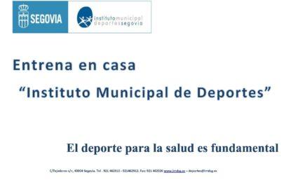 Entrena en casa con el Instituto Municipal de Deportes de Segovia (3)