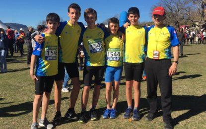 El Sporting Segovia sigue creciendo en los Nacionales
