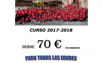 Club de Atletismo Segovia: Inicio de la Temporada 2017/18