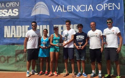 """Pablo Beltrán y Alba Samaniego, campeones del """"Valencia Open Promesas"""" de Segovia"""