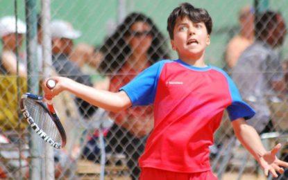 El tenista segoviano, Fermín Barcala, se clasifica para el Campeonato de España Alevín