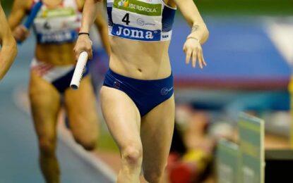 Sara Gómez consigue la medalla de plata en el relevo 4×400,  en el Campeonato de España Absoluto