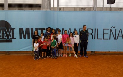 Visita del Club de Tenis Segovia al Mutua Madrid Open 2016